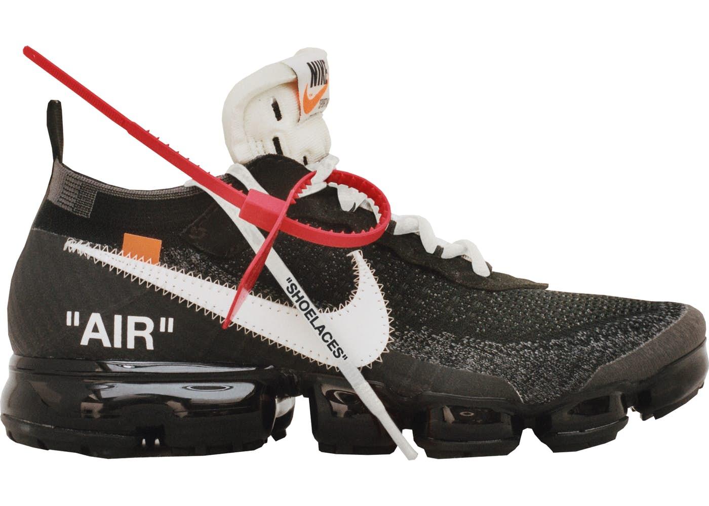 Air VaporMax Off-White(エアヴェイパーマックス オフホワイト)ブラック/ホワイト-クリア
