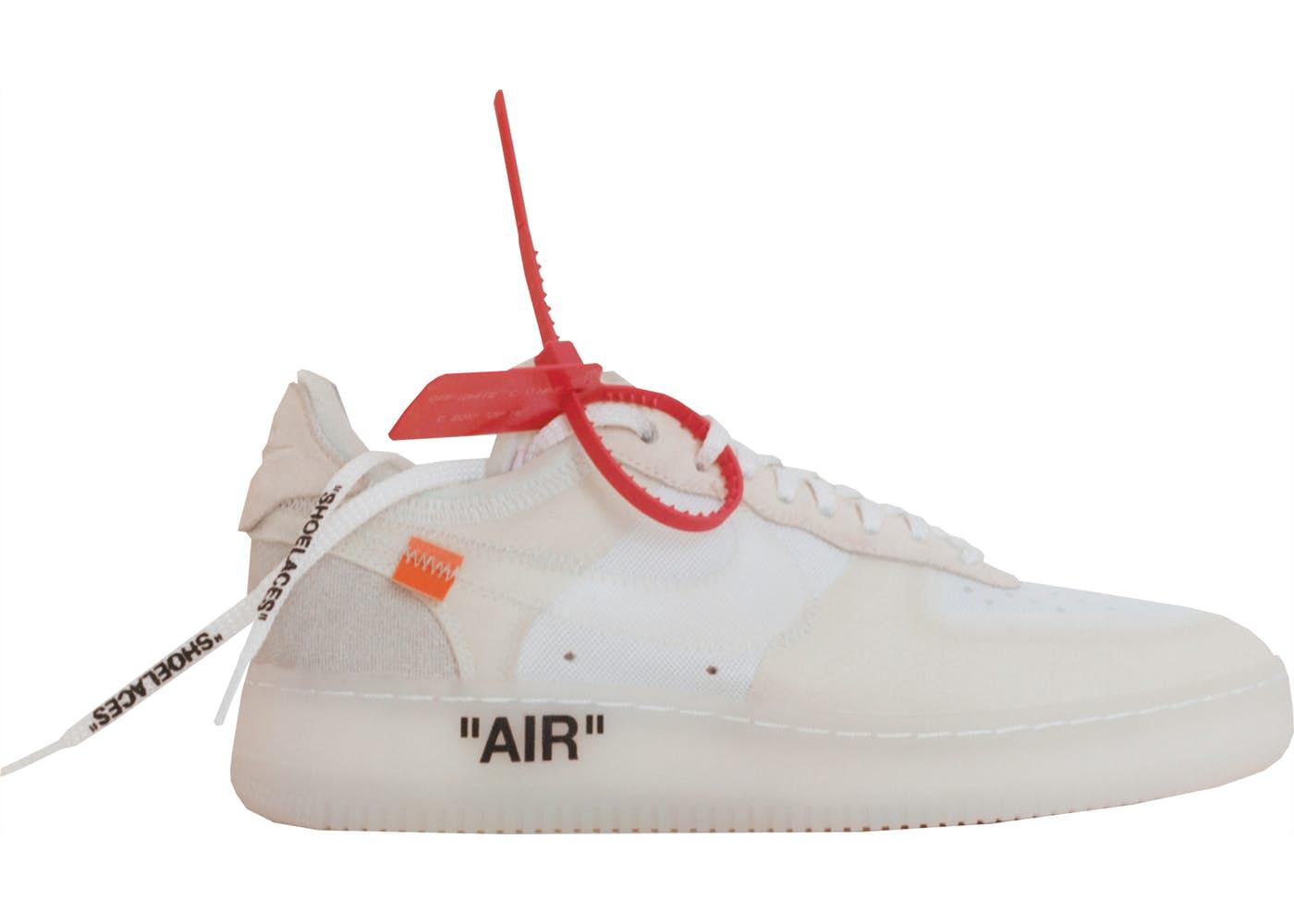 Air Force 1 Low Off-White(エアフォースワン ロー オフホワイト)ホワイト/ホワイト-セイル