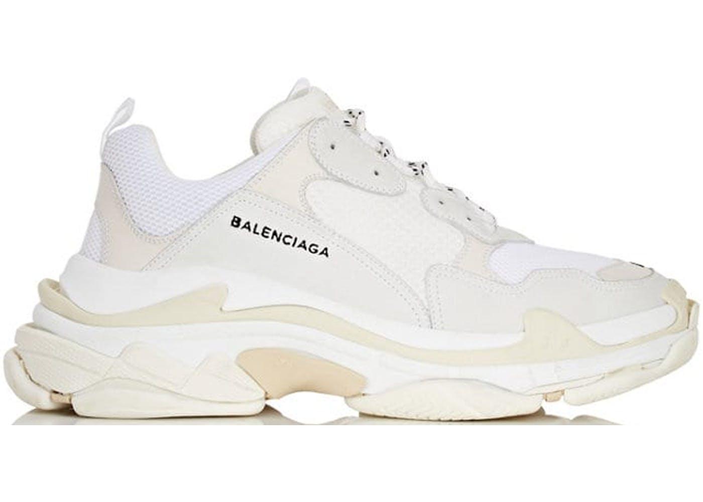 Balenciaga Triple S White(バレンシアガトリプルソールホワイト) ホワイト/ホワイト