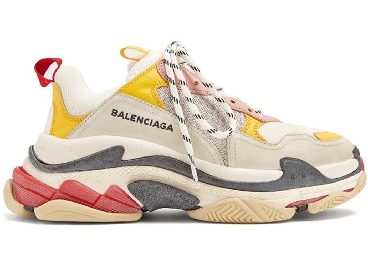 Balenciaga Triple S Cream Yellow Red(バレンシアガトリプルソールクリームイエローレッド) クリーム/イエロー-レッド