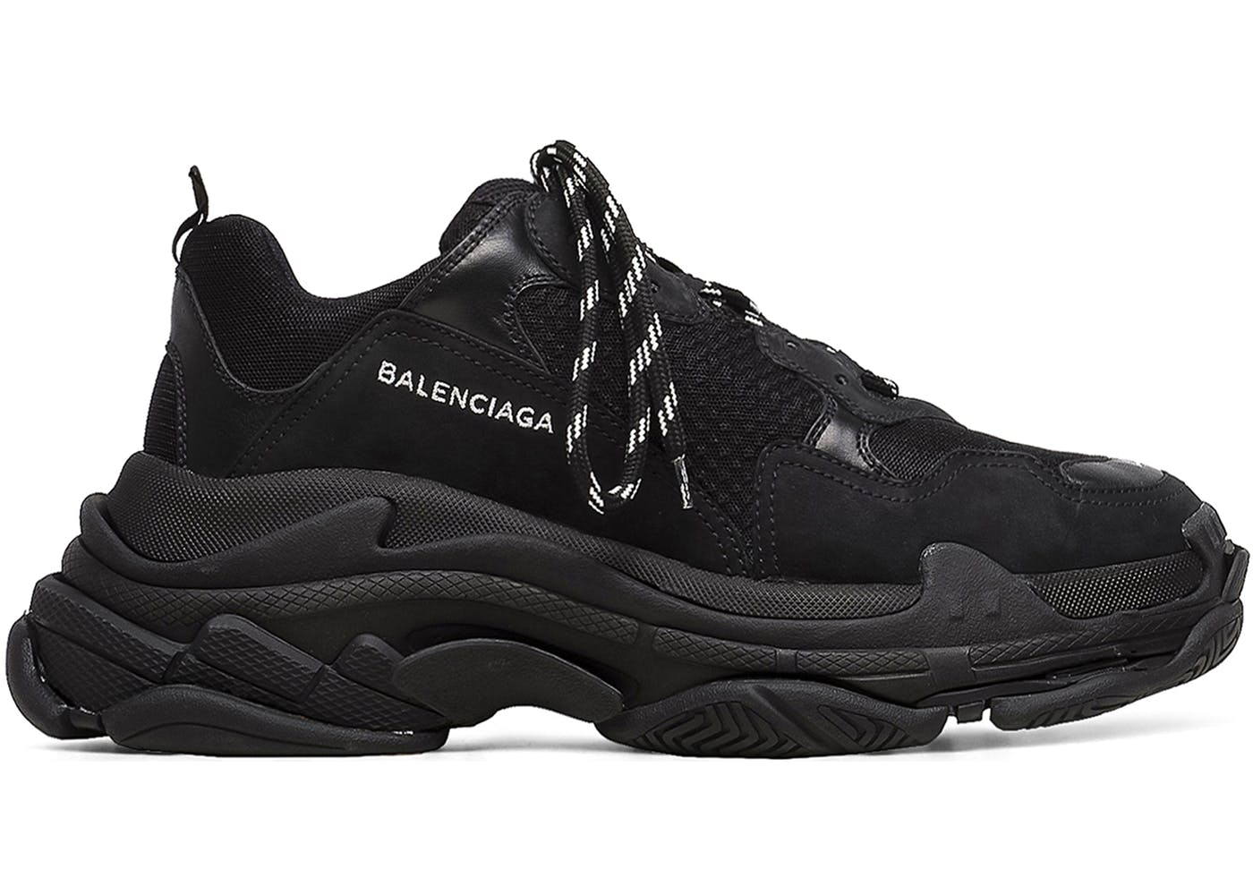 Balenciaga Triple S Triple Black(バレンシアガトリプルソールトリプルブラック) ブラック