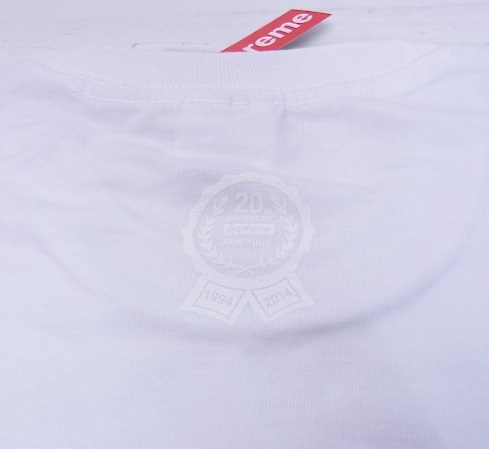 20th Anniversary Box Logo Tee ホワイト