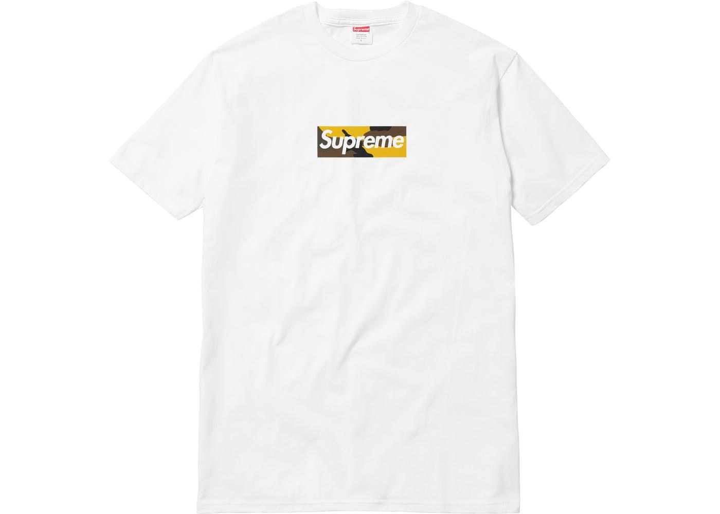 Supreme Brooklyn Box Logo Tee White ホワイト