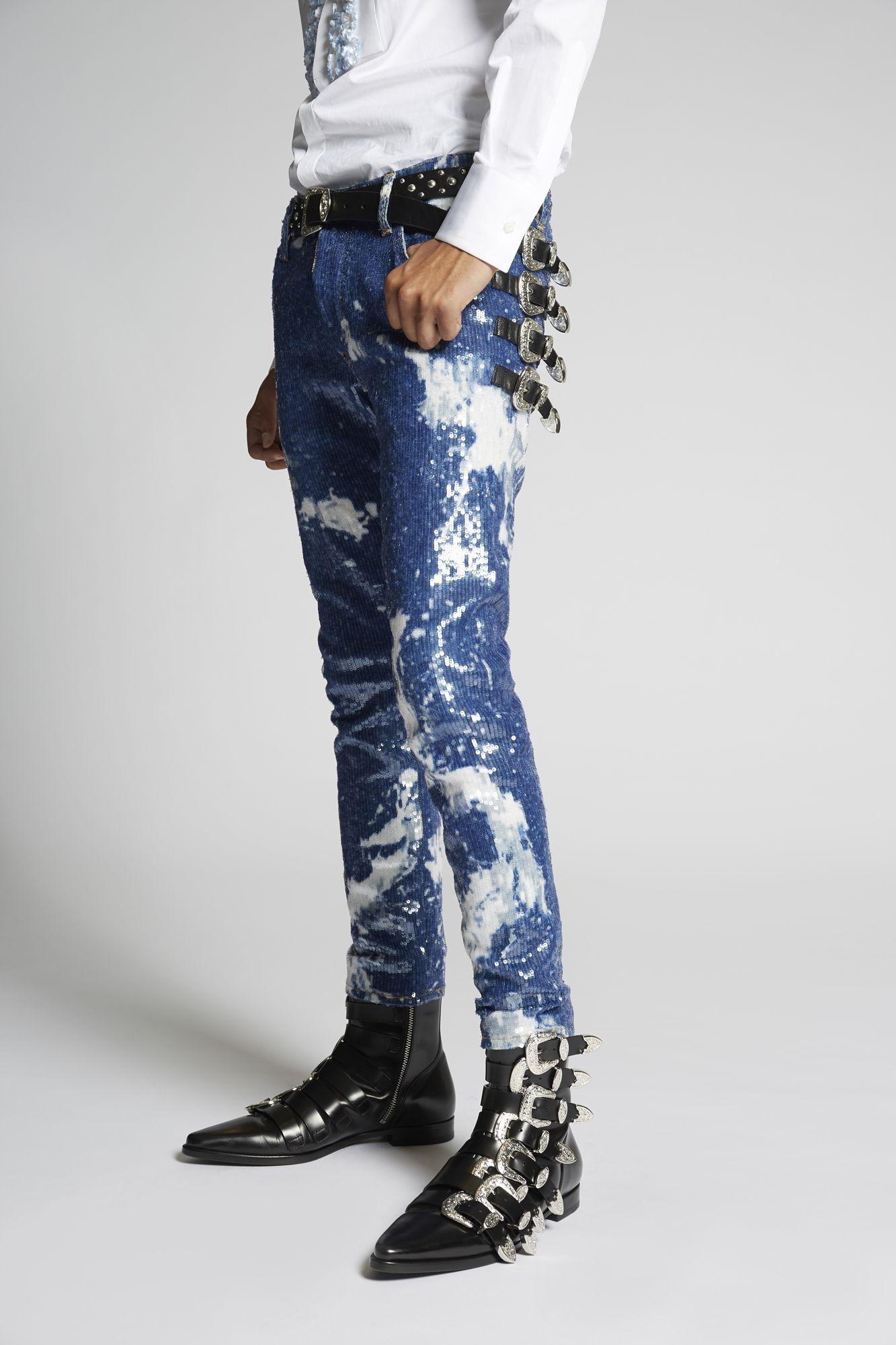 Maculato Skater Jeans ブルー