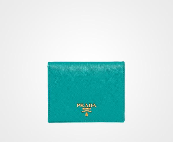Prada(プラダ) サフィアーノ二つ折り財布