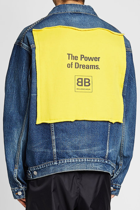 The Power of Dreams Denim Jacket