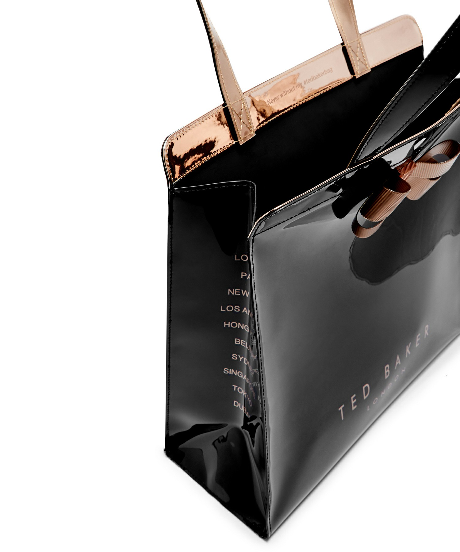 Ted Baker(テッドベーカー) エナメルトートバッグ