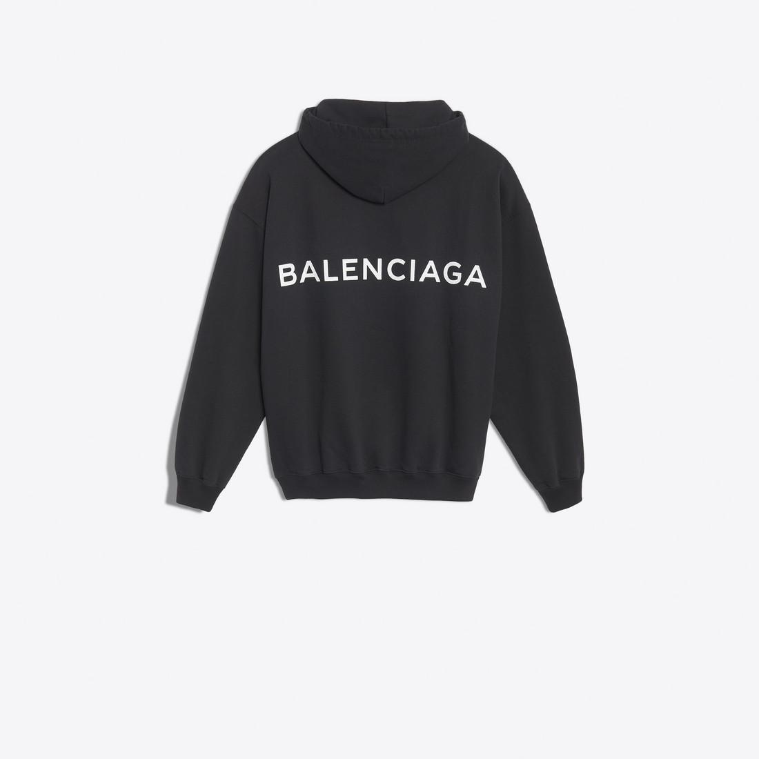 BALENCIAGA フーディー ブラック