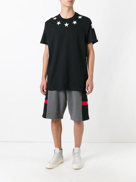 Givenchy Columbian-fit Star Appliqué T-shirt