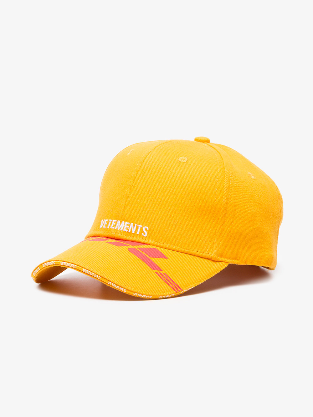 Yellow DHL Cotton Baseball Cap イエロー/レッド