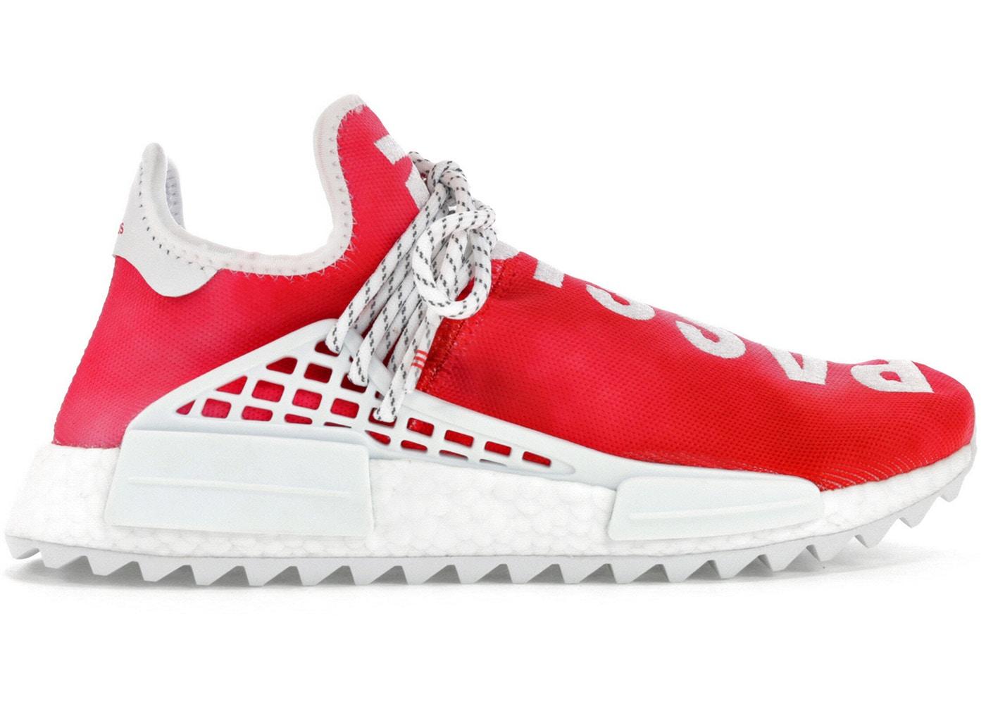 adidas Pharrell NMD HU China Pack Passion レッド/ホワイト