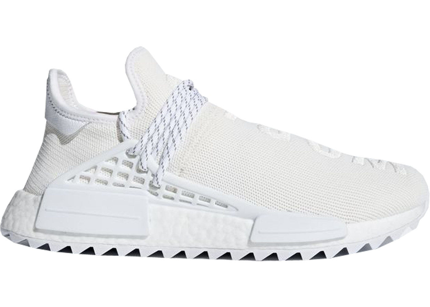 adidas Human Race NMD Pharrell Blank Canvas クリームホワイト/ランニングホワイト/ランニングホワイト