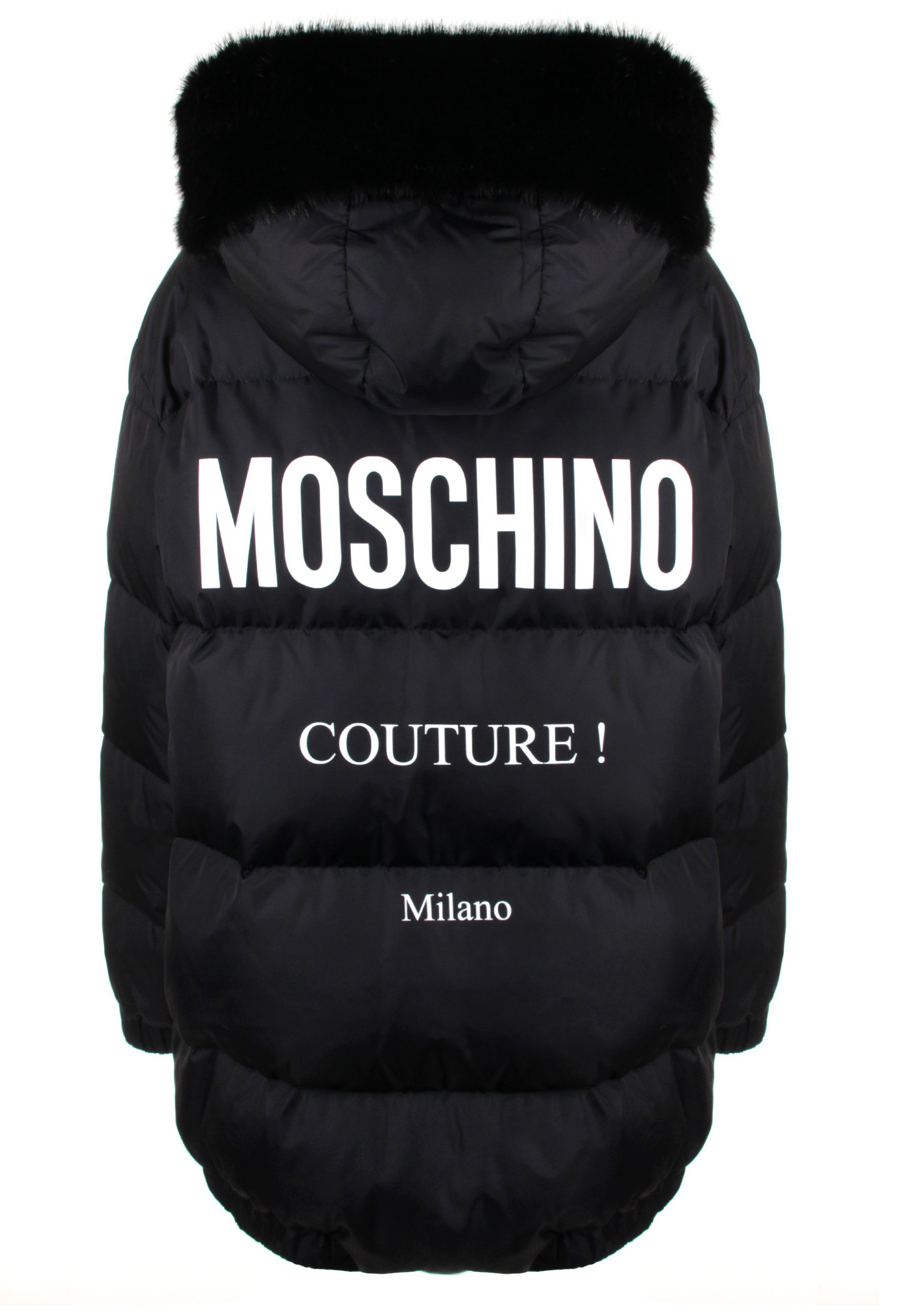 Milano Couture Print Puffer Jacket
