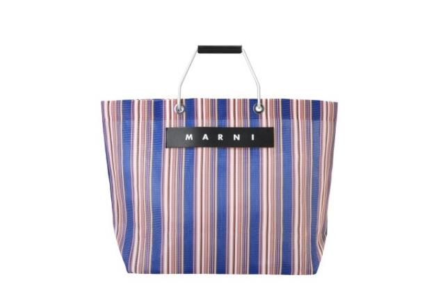 Marni(マルニ)フラワーカフェストライプトートバッグ