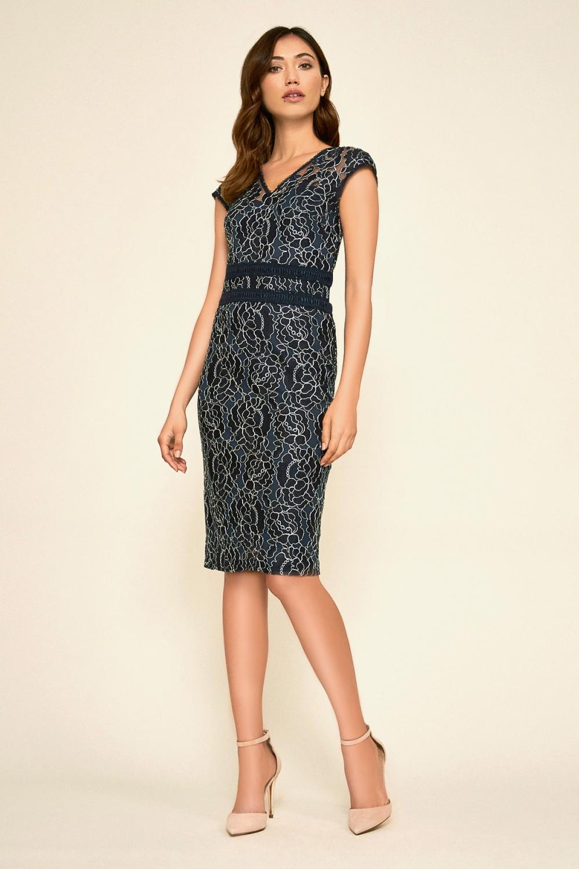 TADASHI SHOJI(タダシ ショージ) ミディアムドレス