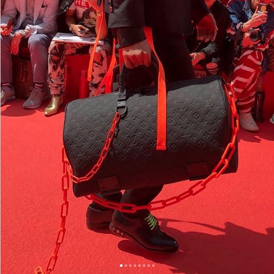 Louis-Vuitton-Black-Monogram-Keepall-Bag-Spring-2019
