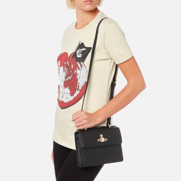 VIVIENNE WESTWOOD WOMEN'S PIMLICO SHOULDER BAG - BLACK