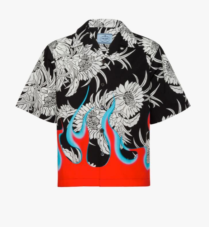 PRADA(プラダ)プリントシャツ