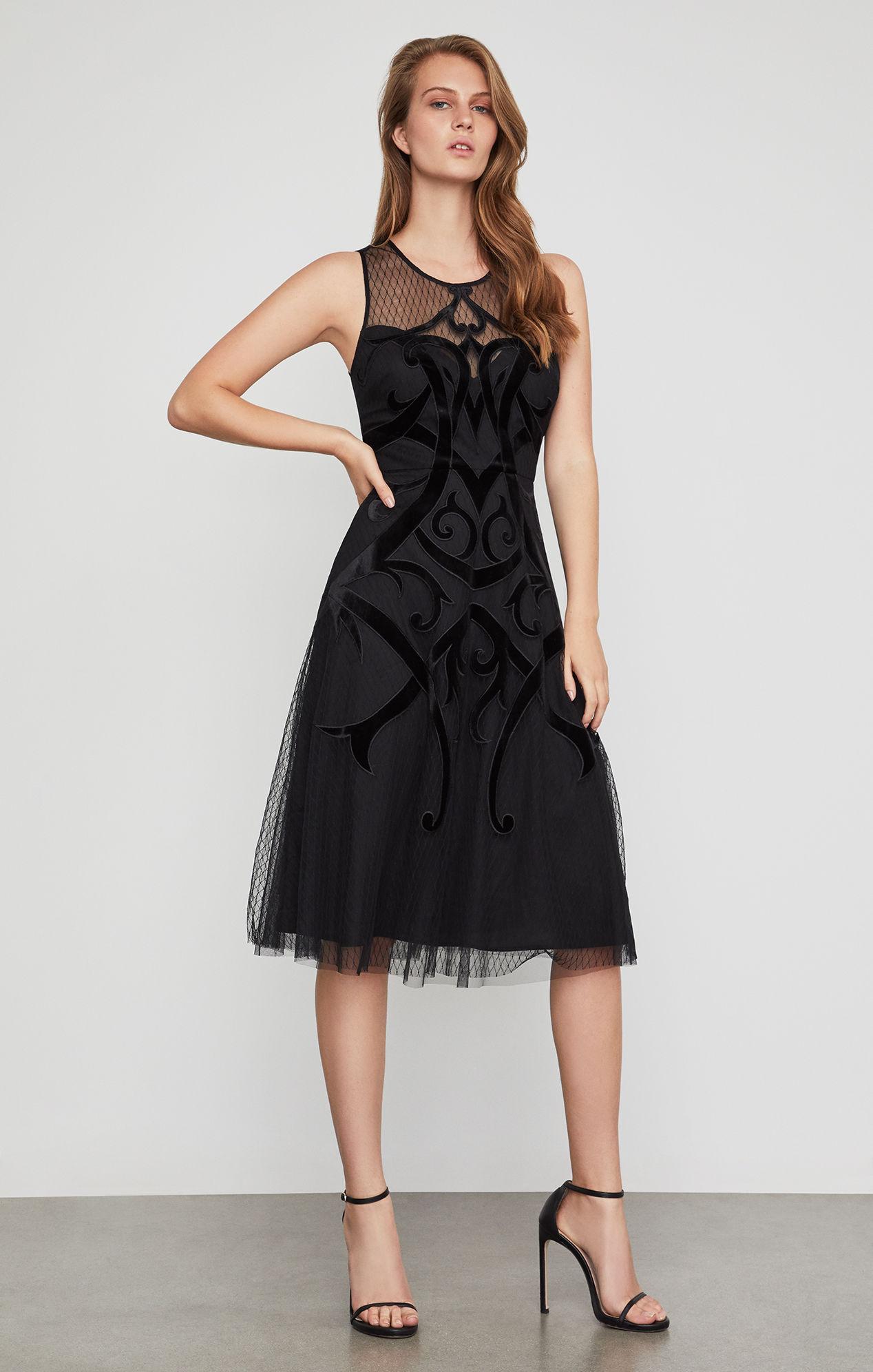 BCBG MAXAZRIA(ビーシービージーマックスアズリア) ミディアムドレス