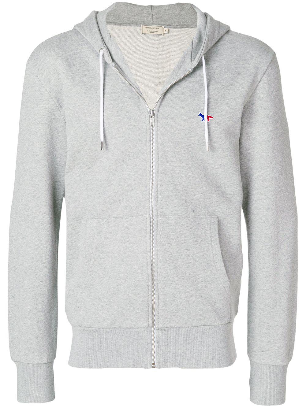 MAISON KITSUNÉ zipup hoodie