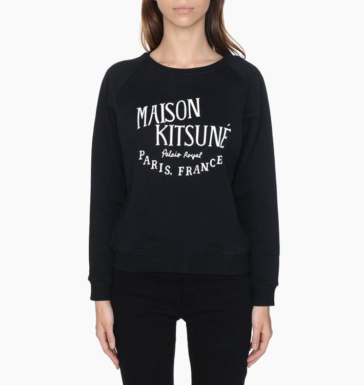 maison-kitsune-palais-royal-sweatshirt-ss16w747-blk-black