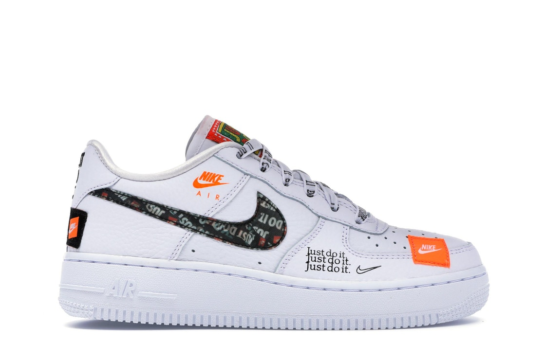 NIKE(ナイキ)Air Force 1 Low Just Do It Pack White (GS)