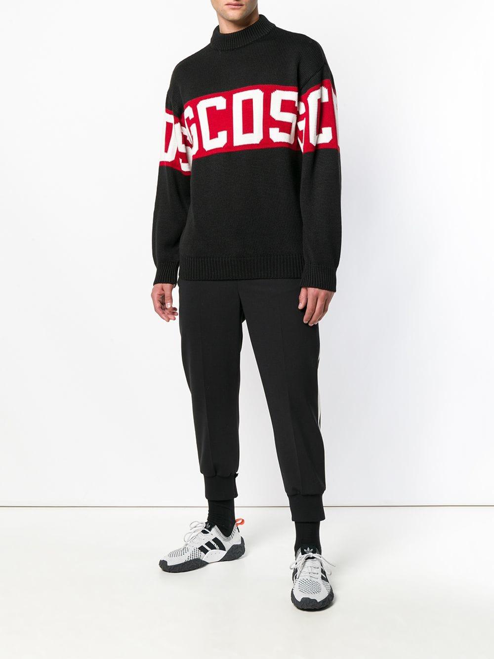 GCDS(ジーシーディーエス) ロゴセーター