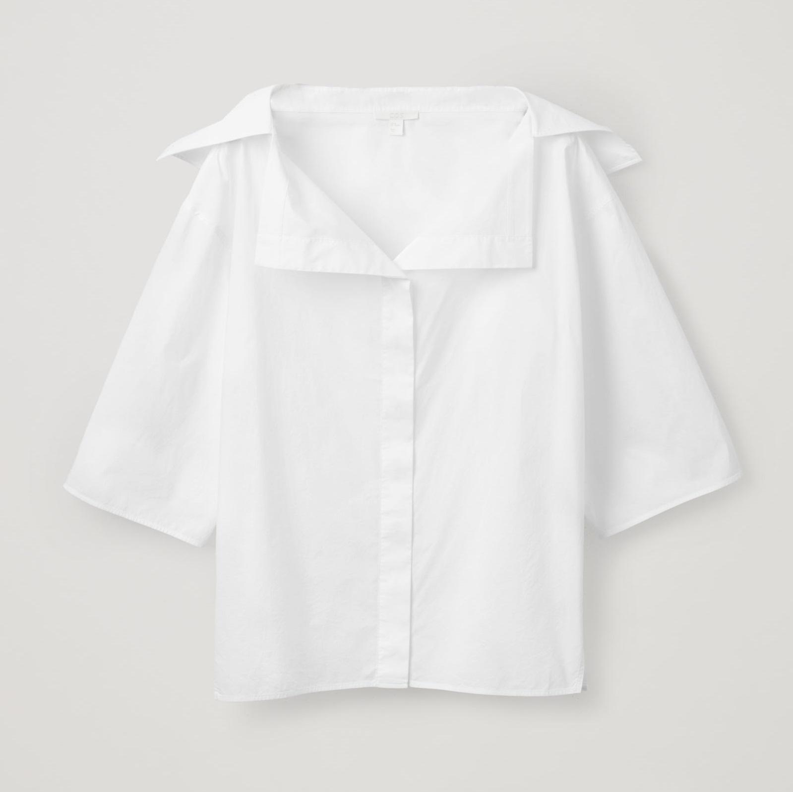 COS(コス) ホワイトシャツ