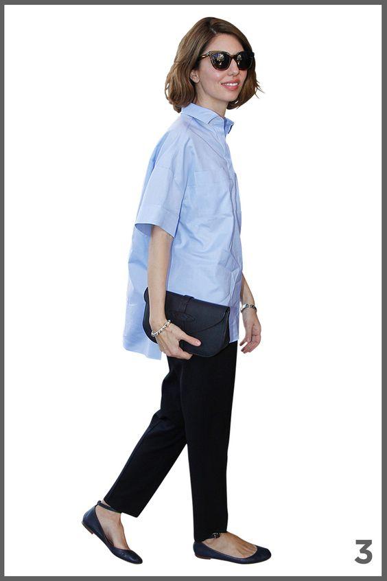 オフの日に着るシャツコーデ