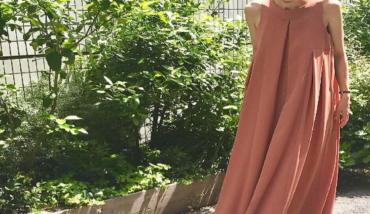 街で着るサマードレス